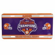"6 x 12 "" Clemson University 2018 National Champions Tigers Car Tag"