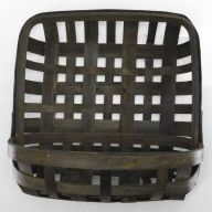 "Tobacco Wall Basket - 12X12X6"""