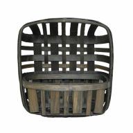 Tobacco Wall Basket - 12X12X4.5""