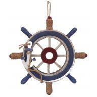 """13 """" Wooden Ships Wheel"""