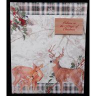 """11 """" Woodland Deer Plaque"""