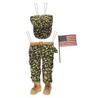 "3 Pc 19.25 "" Soldier Decor Kit - Multi"