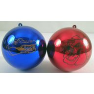 100MM COLLEGE BALL ORNAMENTS (3 COLORS)