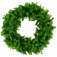 "28 "" Boxwood Wreath"