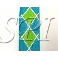 Aqua / Lime / White