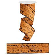 10yd Wired Auburn Print