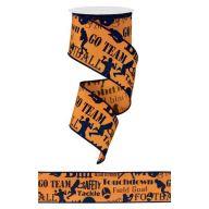 "2.5"" Orange / Navy"