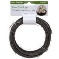 Wired Sisal Rope 40ft