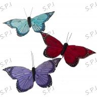 "12 Assorted 3.5 "" Butterflies"