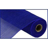 """10.5"""" X 10yd Faux Jute Stripe - Royal Blue"""