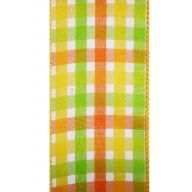 50yd Wired Corinne Plaid - Yellow