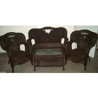 S/4 CAMEL BACK SETTEE POWDER COATED FRAME