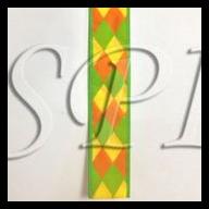 "1.5"" X 10yd Diamond Wired Ribbon"