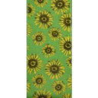 10 yd Wired Sunflower Ribbon