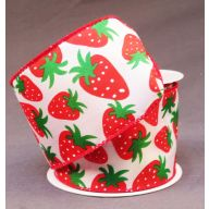 10 yd Wired Strawberries