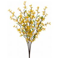 X12 Forsythia Bush W Twigs - Yellow