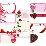 Valentine Enclosure Cards 50 Pk
