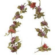 6 ' Wild Rose / Rose / Hydrangea Garland