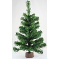 "18 "" Canadian Pine Tree Plastic Base X53 Tips"