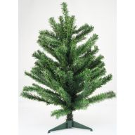 "24 "" Canadian Pine Tree Plastic Stand"