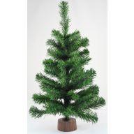 "24 "" Pine Tree Wood Base"