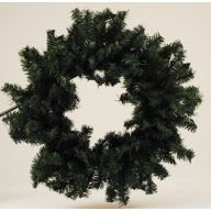 "30 "" Canadian Pine Wreath 300 Tips"
