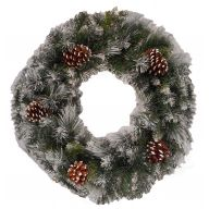 """24 """" Glacier Wreath 140 Tips"""