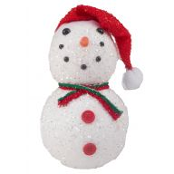 120mm X 190mm Frosted Snowman