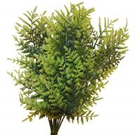 "19 "" Plastic Leatherleaf ( 12 per Rubberband / Sold by the Dozen )"