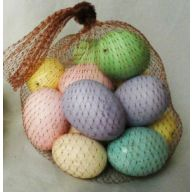 8 pc Each 45 mm & 55 mm Foam Egg in Bag Assorted