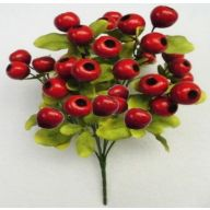 "15 "" Balausta Bush X 9 - Red"