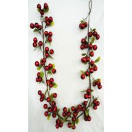5 ' Balausta Berry Garland - Red