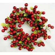 "18 "" Balausta Berry Vine Wreath - Red"