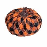 100MM Check Fabric Wrap Pumpkin