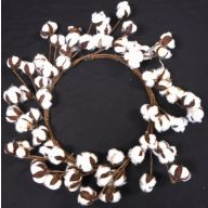 "18 "" Cotton Wreath"