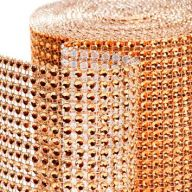 "4.5 "" X 5yd Diamond Ribbon - Champagne Gold"