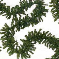"9 ' X 14 "" Canadian Pine Garland X240 Tips"