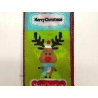 """2.5 """" x 10 yd Christmas Snowy Cute Animals"""