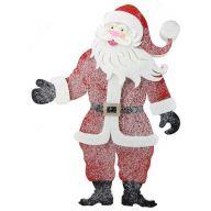"""18.25""""H 13.5""""W Felt / Foam Santa Ornament"""