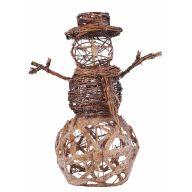 """15.75 """" Glitter Vine Snowman"""