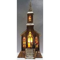 Church Lantern w/ 15 Lights 8.5 X 4.25 X 16.5 (SHIPS BY PALLET ONLY)