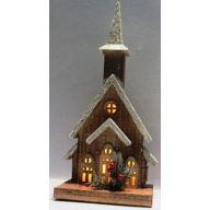 Church Lantern w/ 10 Lights 7 X 5.25 X 16 (SHIPS BY PALLET ONLY)