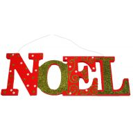 Large Noel Hanging Plaque