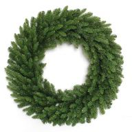 "42 "" Banff Pine Elevated Double Ring Wreath With 450 Tips (SHIPS BY PALLET ONLY)"