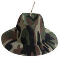 """7 """" Camoflauge Hanging Hat"""