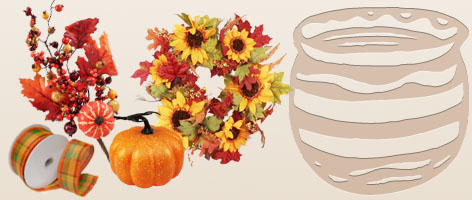 Wholesale Halloween, Thanksgiving & Fall Decorations